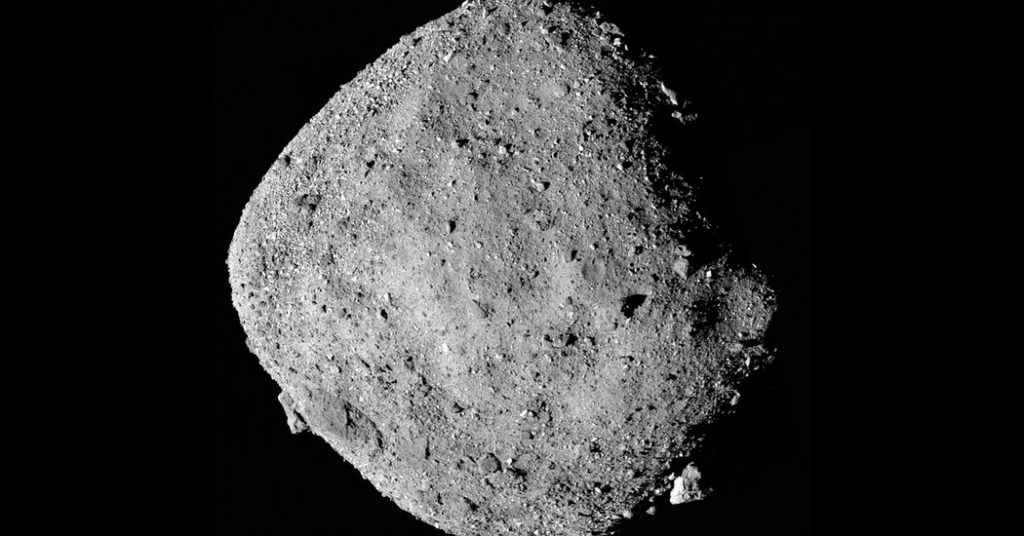 NASA's OSIRIS-REX Mission Completes Quick Touch of Bennu Asteroid